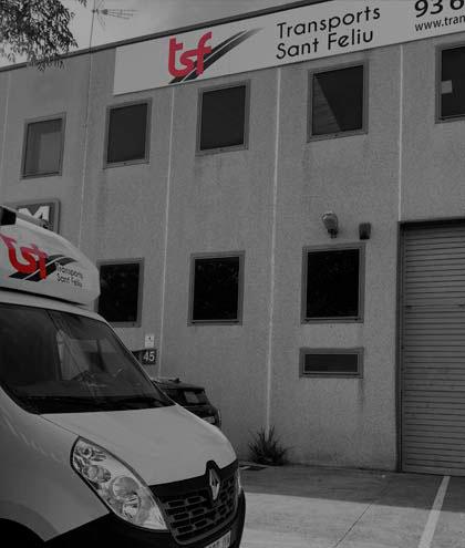 Empresa de transports a Sant Feliu de Llobregat