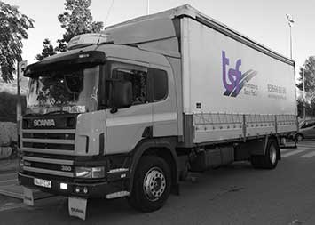 Transport camió de 10000 kg a Barcelona