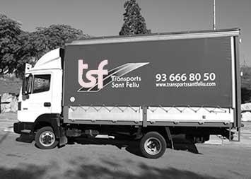 Transport camió de 1500 kg a Barcelona