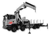 Transporte Grúa de 15000 kg en Barcelona